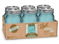 Just bought these! I have always been obsessed with the blue mason jars and now they have come out with their anniversary addition!!