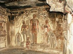 Elora cave India. .created by artists before the birth of Christ...