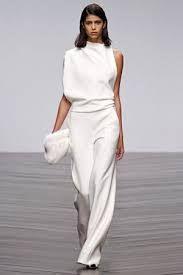 Image result for dominatrix white wedding pant suit