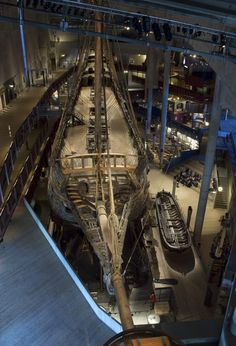 The incredible Vasa battleship was intended to be the pride of the Swedish Imperial fleet, yet in a forerunner of the Titanic disaster centuries later, sank on its maiden voyage in Voyage Suede, Old Sailing Ships, Sweden Travel, Lappland, Fjord, Wooden Ship, Sail Away, Shipwreck, Model Ships