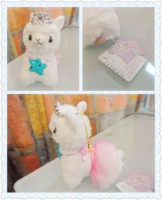 ROSYS GARDEN | Arpakasso Alpacasso alpaca princess ballet shiny star ball chain plush (12cm) | Online Store Powered by Storenvy