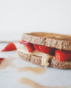 SEA SALT HONEY ALMOND BUTTER AND MACERATED BERRIES: A TWIST ON PB+J ...