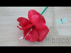 Flor de Hibisco de EVA