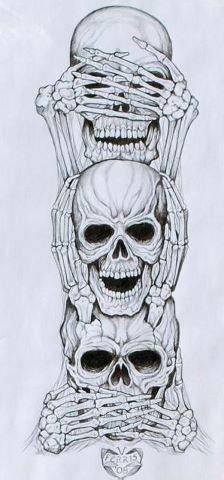 Random skulls