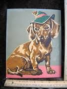 vintage parisian paint by numbers - Google Search