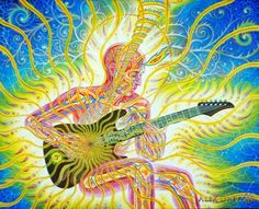 Alex Grey art.♥ for those who would rather have music than food ...♥ feeling close to you♥ MARI