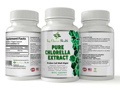 Chlorella Extract 100% Pure Natural Detox And Cleanse - Metabolism - Boost Immune System - Helps With Fatigue - Dietary Supplement - Skin Care - Lowers Cholesterol - 60 Capsules *** You can find out more details at the link of the image. (This is an Amazon Affiliate link and I receive a commission for the sales)