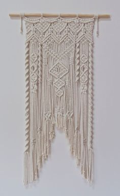 Three Thirty Three Macrame Wall Hanging - Not Mine Not Yours