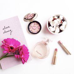 Beautiful lipsticks.  #beautiful #pink #flatlays