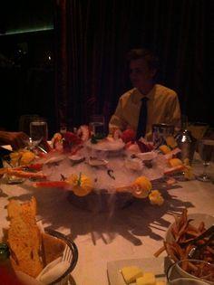 Sea Food Platter At Mastros Steakhouse In Thousand Oaks California