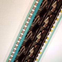 35mm Movie Film Strip Recycled Bookmark on Etsy, $4.00
