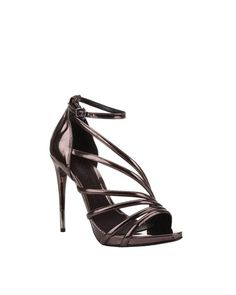 metallic is everywhere - love these shoes!