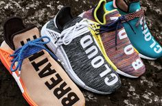 The Pharrell x adidas NMD Hu Trail Collection Drops This Weekend