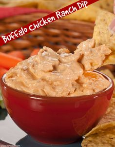Every summer party needs a good dip, and this dip (made in your slow cooker) is easy, and delicious!