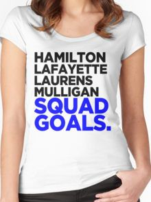 Hamilton - Squad Goals 2.0 Women's Fitted Scoop T-Shirt