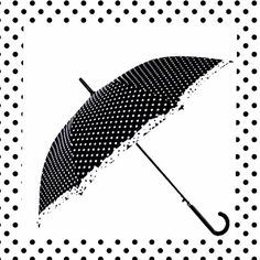Polka Dot Umbrella  Find this item and more at your nearest Laila Rowe Store  http://www.lailarowe.com/locations.html