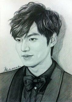 drawings inspired by 2013 SBS Drama Awards | Lee Min Ho