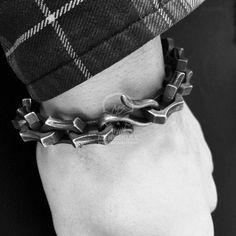 Edges Bracelet 925 silver Bracelet SSB46
