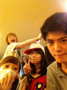 Kei, Manami, Migiwa, and Johnny