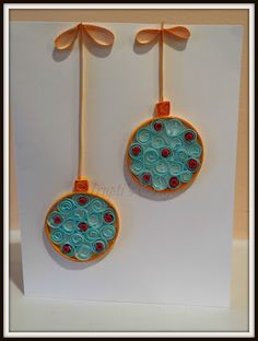 Trupti's Craft: Paper Quilling Christmas Card