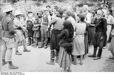 02 06 1941. The first brutal massacre in Europe during the WWII by German Huns.  Fallschirmjäger.net - Kondomari Massacre