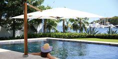 Pool Side, Swim-Under Cantilever Vineyard - Umbrellas & Parasols | TUUCI
