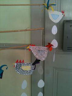 Poules mobiles
