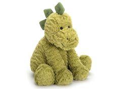 Jellycat Fuddlewuddle DINO M Baby Toys, Kids Toys, Dog Toys, Jellycat, Dinosaur Toys, Dinosaurs, Cuddling, Panda, Elephant