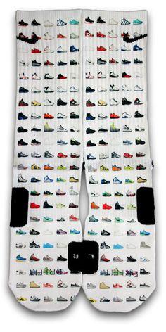 Shoemoji Custom Elite Socks - CustomizeEliteSocks.com - 1