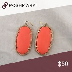 Kendra Scott Danielle earrings - coral Coral Kendra Scott Danielle earrings Kendra Scott Jewelry Earrings
