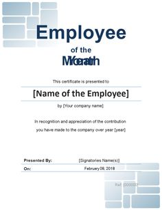 free employee of the month certificate photo portrait templates at allbusinesstemplatescom