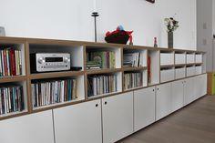 Sideboard für Bücher und CDs. #bücherregal #stocubo