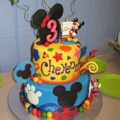 Cheyenne's 3rd Birthday cake. Carla's Cakes.
