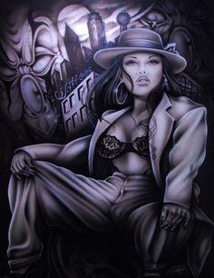 chola art | Zoot Suit Graphics Code | Zoot Suit Comments & Pictures