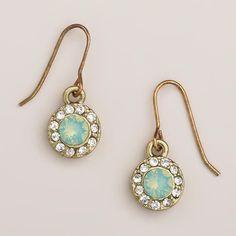 Pacific Opal Stone Drop Earrings