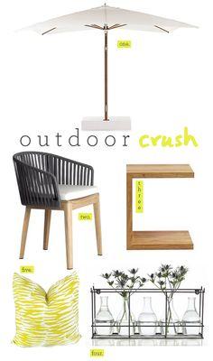 my outdoor crush...   #summer #outdoor #furniture