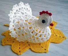 gallina uncinetto | Hobby lavori femminili - ricamo - uncinetto - maglia