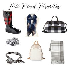 Fall Plaid Favorites | How to Style Plaid | Plaid Style Tips | Cold Weather Fashion Ideas || Lauren McBride