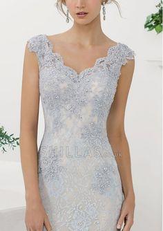Attractive Ladies Lace Evening Dresses & Prom Dresses - www.shilla.co.uk - 1510378 - Vintage Wedding Dresses