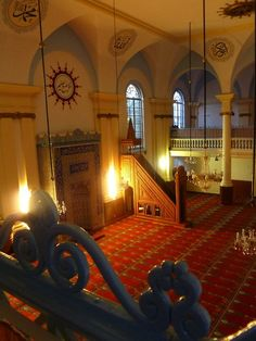 Inside a Turkish mosque in The Netherlands