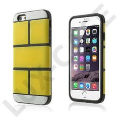 Wall Bricks (Gul) iPhone 6 Plus Cover