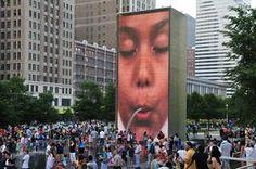 tripbucket | Dream: See Crown Fountain, Chicago