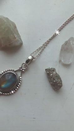 OOAK Silversmith Artisan JewelryHandmade Necklace Sterling Silver Ruby Checkerboard Quartz Necklace BOHO Metalsmith