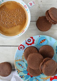 receta alfajores de chocolate