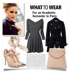 """What to wear - An academic semester in Paris (1)"" by katerina-kapnia on Polyvore featuring Oris, Hermès, Louis Vuitton, Valentino, STELLA McCARTNEY, MANGO, Pink, paris, university and aademic"