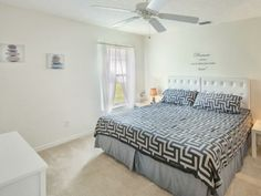 2nd Bedroom fits easily king size bed