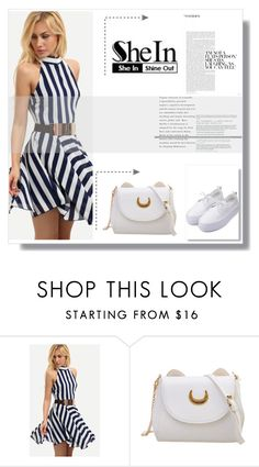 """""""SheIn 3/XIV"""" by nermina-okanovic ❤ liked on Polyvore featuring shein"""
