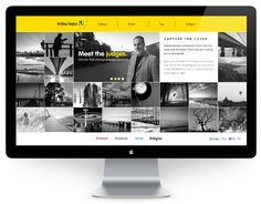 Yellow Pages - Capture The Cover by Pascal van der Haar, via Behance Modern Web Design, Ux Design, Print Design, Yellow Pages, Web Gallery, Interaction Design, Website Designs, Set Sail, User Interface Design