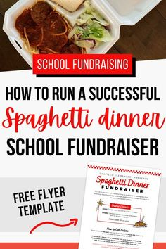 Looking for tips on how to run a spaghetti dinner fundraiser for your school, PTO or PTA? We can help! Learn how to plan a profitable dinner and how to calculate how much food you'll need for your guests, and how to price your tickets. Get an editable spaghetti dinner fundraiser flyer template, custom fundraiser tickets and learn how much to charge for the dinner. Simple Business Cards, Custom Business Cards, 50 50 Raffle, Fundraising Events, Fundraising Ideas, Spaghetti Dinner, First Grade Activities, Free Flyer Templates, School Fundraisers