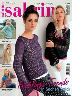 Журналы по вязанию и рукоделию: Sabrina №2 2014